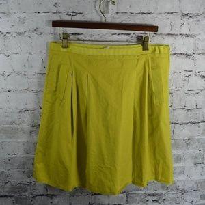 J CREW Cotton Taffeta Nicky skirt